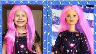 Valentina and New Barbie doll / BONECA GIGANTE DE VERDADE