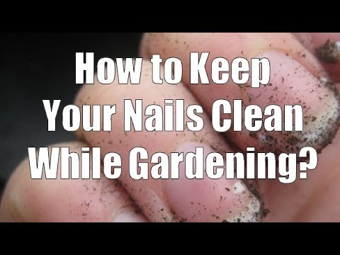 How to Keep Your Fingernails Clean While Gardening