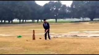 Funny Cricket COMMENTARY | Awesome Last Ball | Village Cricket