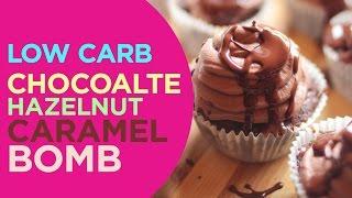 Chocolate Hazelnut Cupcakes | LowCarbPlanner