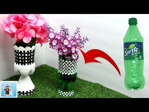 Handicraft Decoupage On Vase Art And Craft Ideas Youtube