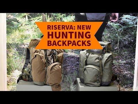 Riserva: New Hunting Backpacks
