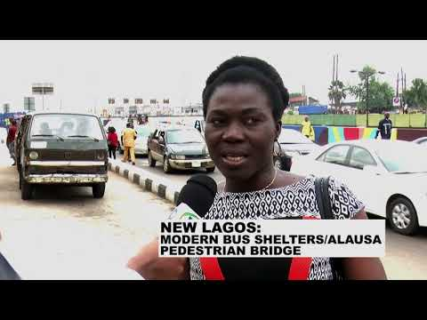 Lagos State Bus Reforms: Modern Bus Shelters And Alausa Pedestrian Bridge