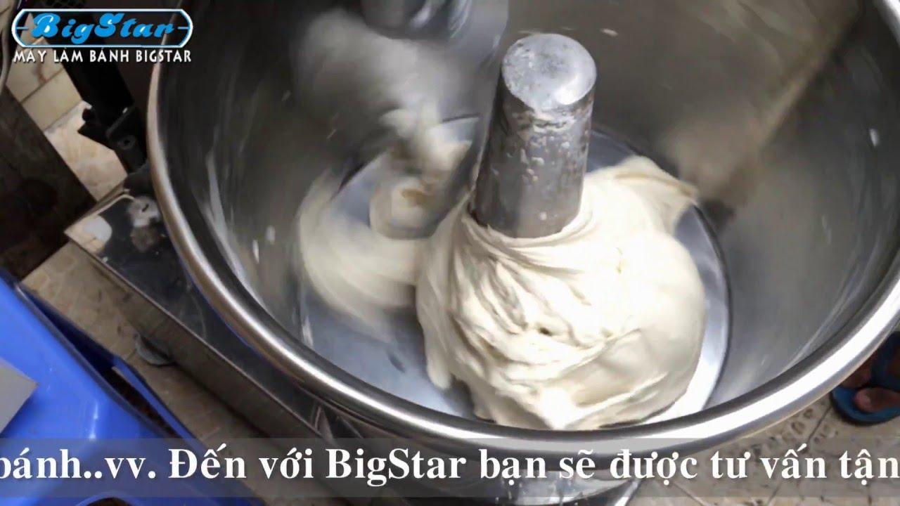 Máy trộn bột làm bánh mì Việt Nam – Máy làm bánh BigStar