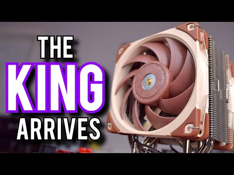 The Best CPU Cooler I've Ever Reviewed [Noctua NH-U12A]