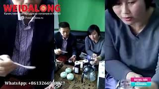 Как мы продвигаем продукты питания на китайском рынке // Alles Asia Weidalong