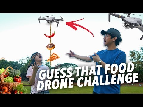 Download Youtube: GUESS THAT FOOD DRONE CHALLENGE | Ranz and Niana