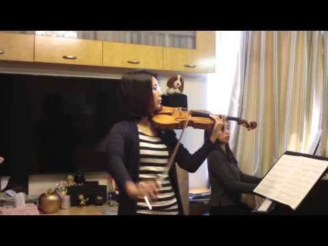 ABRSM 2016-19 Grade 6 Violin C2 Theme from Ladies in Lavender by Doris Lee & Lai Bo Ling