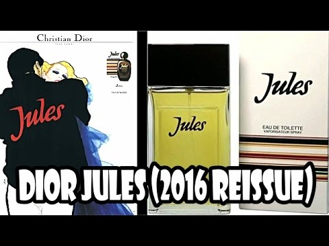 Re-Upload due to technical issue - Dior Jules 2016 (with Fragrance Samples UK)