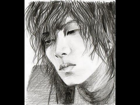 Yamapi (Yamashita Tomohisa) - speed drawing