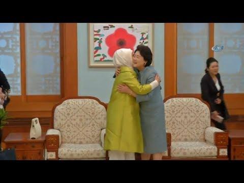 Emine Erdoğan, Kim Jung sook İle Görüştü