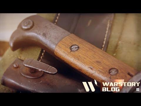 Немецкие штыки KS-98 с пилами, на Первую Мировую войну! Долгожданное видео на WarStory!