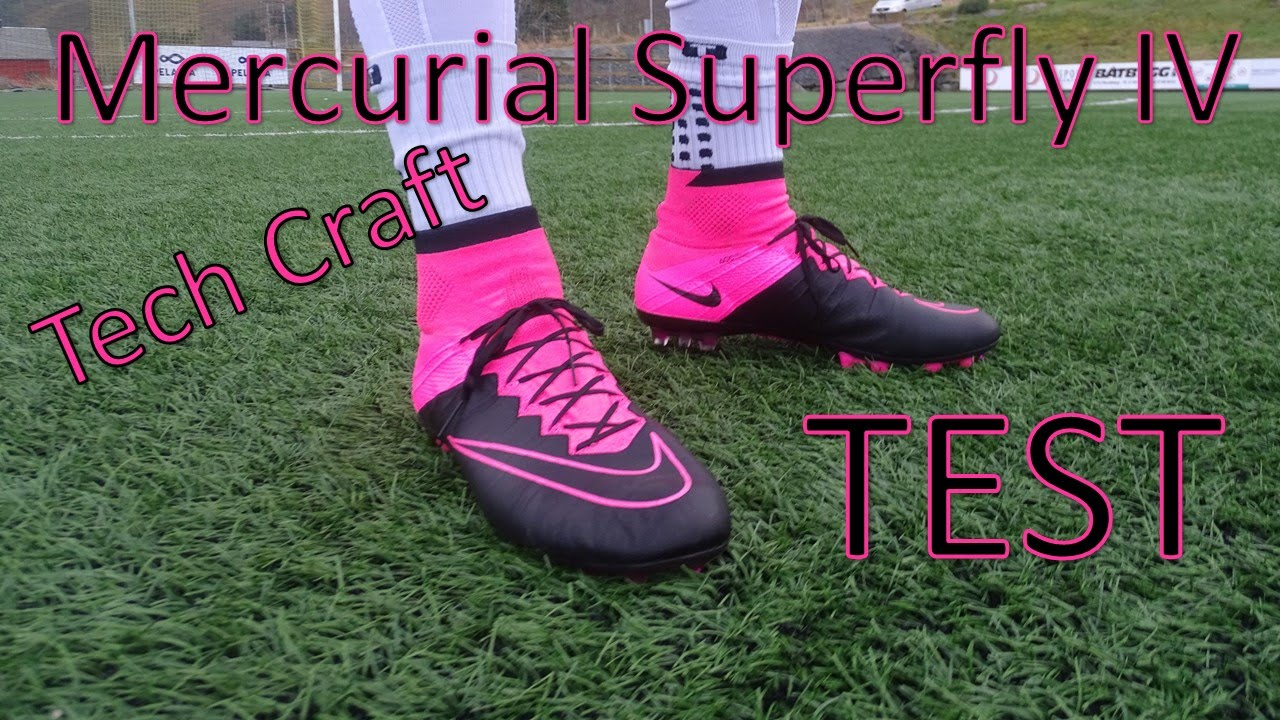 Nike Mercurial Superfly IV Test | Tech Craft Leather | Review on our Instagram