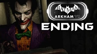 Batman Arkham VR Gameplay Walkthrough ENDING & JOKER (PLAYSTATION VR) Full Game