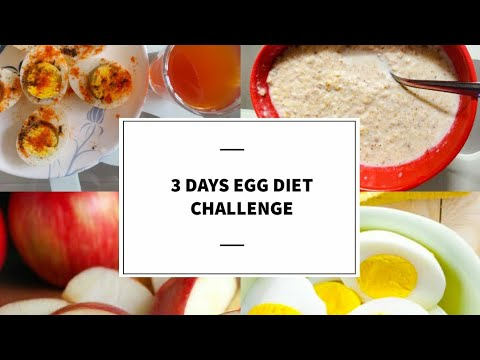 I tried Versatile Vicky's Egg Diet for 3 Days | Pro and Cons Explained | Lose 1 kg per day