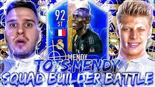 FIFA 19: TOTS STÜRMER MENDY SQUAD BUILDER BATTLE🔥🔥