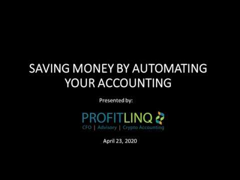 Saving money in your Accounting Function through Automation