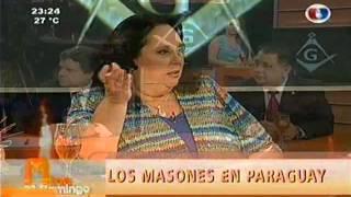 Euclides Acevedo y Alberto Quiñonez defienden el monumento masonico de Paraguay