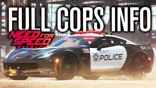 NEED FOR SPEED PAYBACK | FULL COP DETAILS, CORVETTE, RHINO, SIDE BETS & MORE!