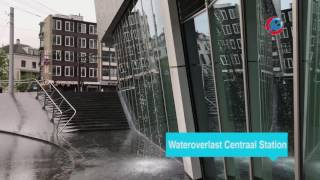 Wateroverlast Centraal Station
