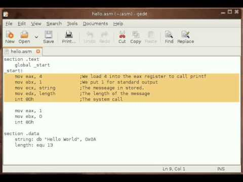 assembly language compiler software