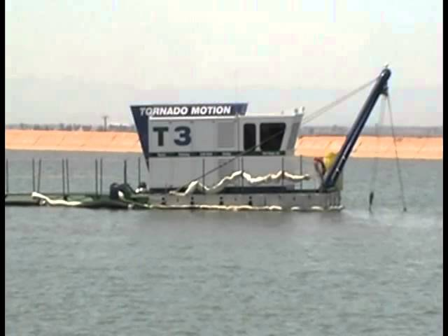 T3 Liner-Safe Dredger Removing Sediment - EDDY Pump