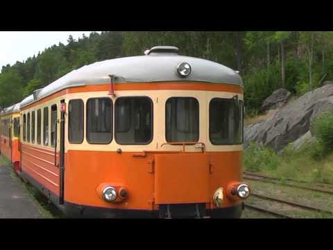 Railway Dal-Västra Värmlands Järnväg DVVJ Dalsland Sweden 2010