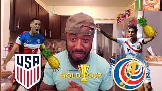 🇺🇸 USA Vs COSTA RICA 🇨🇷 2017 GOLD CUP/Copa ORO  SEMI FINAL PREDICTION