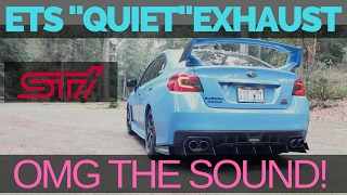 homepage tile video photo for ETS EXHAUST   STAGE 2 SUBARU WRX STI Hyper Blue (w/mufflers)