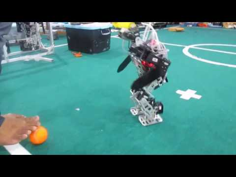 Ahmad Dahlan University (Indonesia) Humanoid Robot Soccer Team (Video For FIRA HUROSOT 2015) R-SCUAD