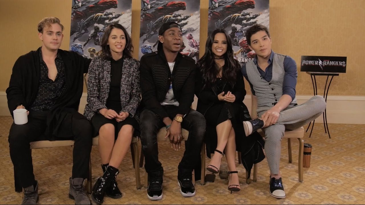 Watch Naomi scott power rangers press conference in mexico city video