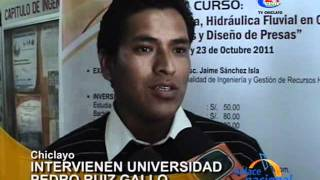 Intervienen Universidad Pedro Ruiz Gallo en Chiclayo