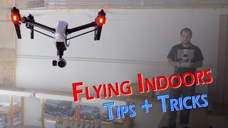 DJI Inspire - Indoor Flight Test