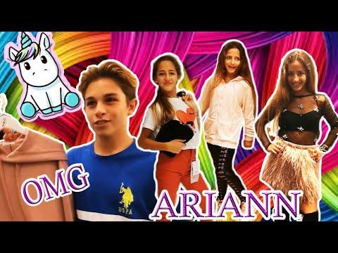 Dejo a mi Crush que me elija 3 Outfits con Cesar Abril | Ariann (Challenge)😬😘