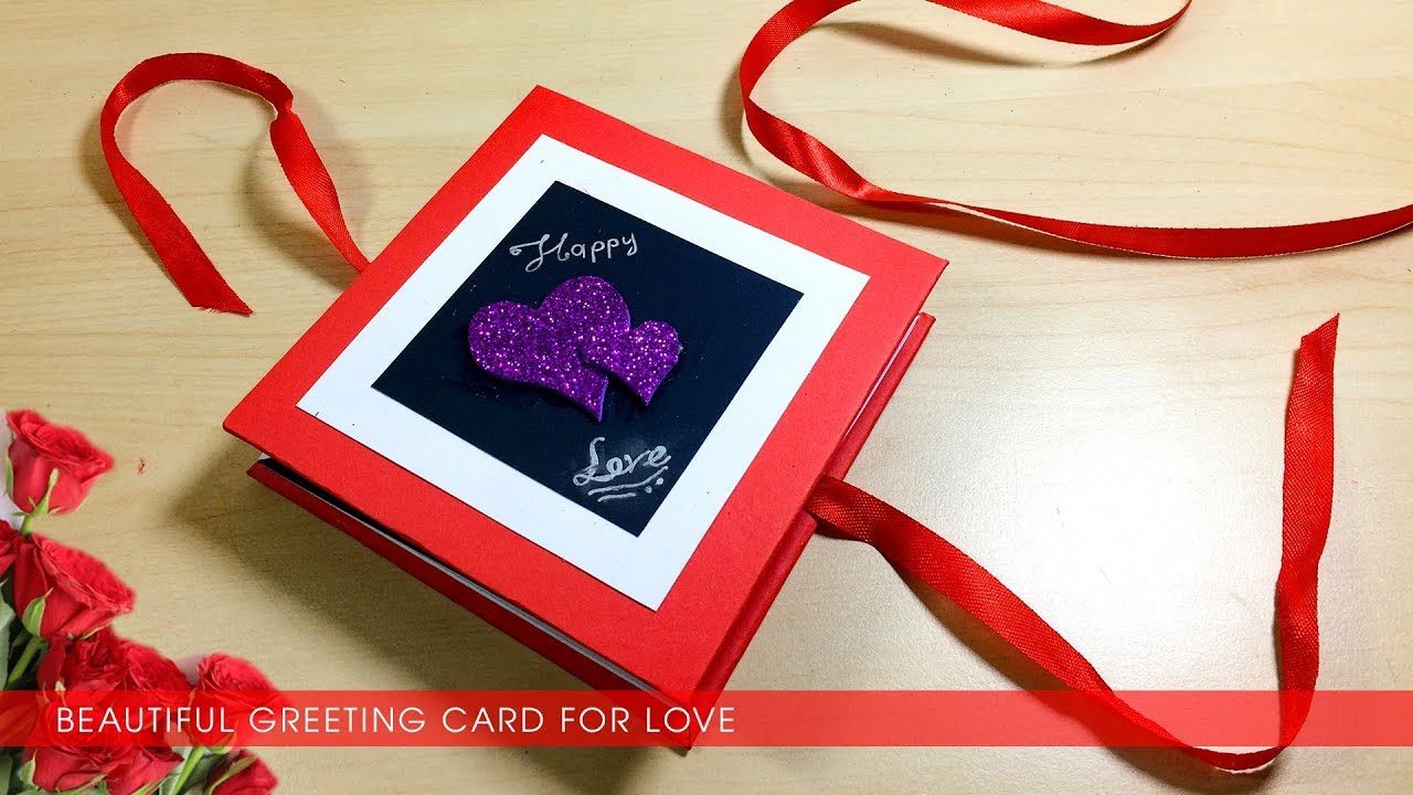 Hướng dẫn làm thiệp valentine độc đáo