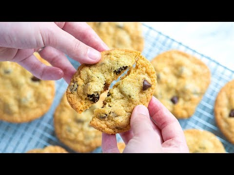 How To Make The Best Chocolate Chip Cookies - Homemade Chocolate Chip Cookies Recipe