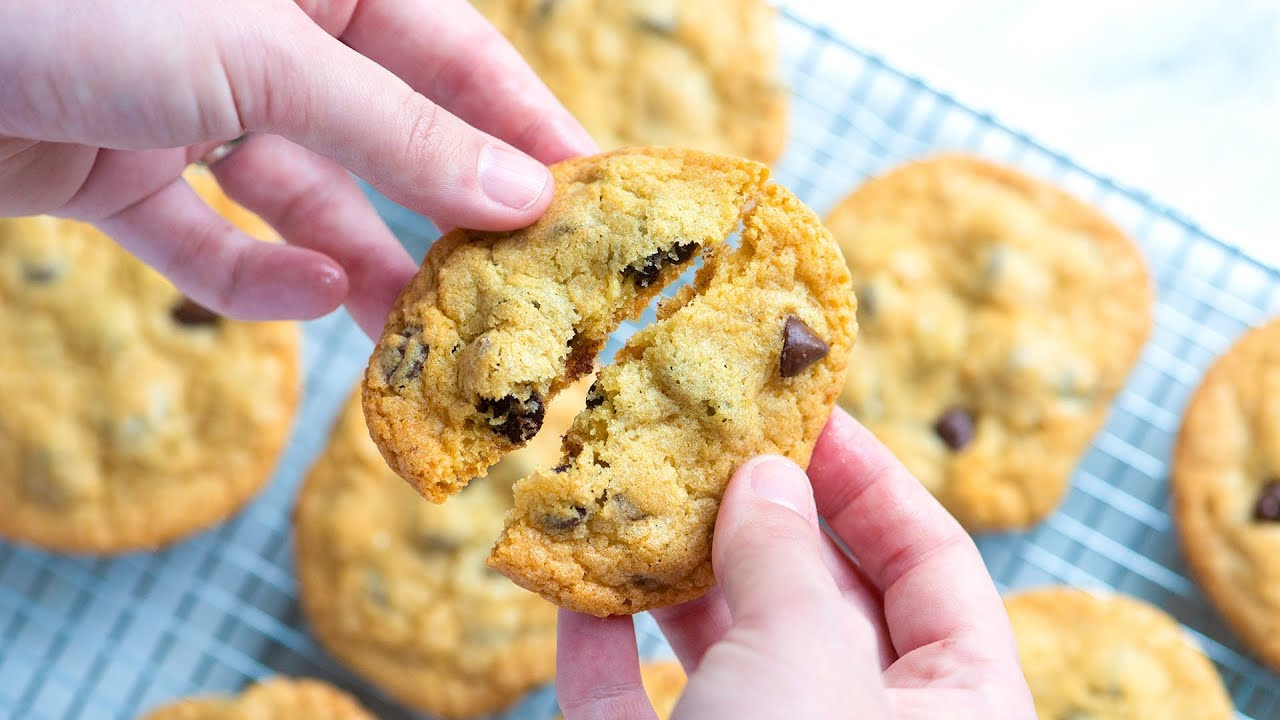 How to make the best homemade chocolate chip cookies