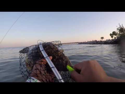 FLOUNDER WADE FISHING  - PART 2 (GALVESTON, TX)