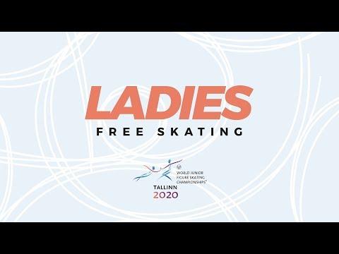 Ladies Free Skating | ISU World Junior Figure Skating Championships | #WorldJFigure