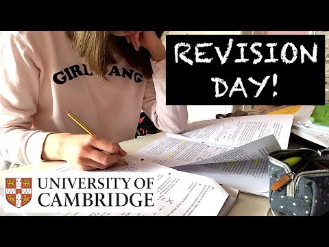 UNI VACATION REVISION DAY! (STUDY WITH ME)