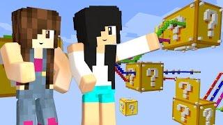 Minecraft - CORRIDA DE LUCKY BLOCK GRANDÃO