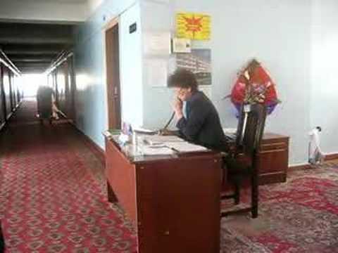 Hotel authorities in Kazakhstan