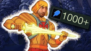 Voyboy | THE 1000+ AP NASHOR'S TOOTH RYZE TECHNOLOGY! UNSTOPPABLE SPLIT PUSH KING!
