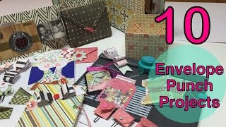 10 Envelope Punchboard  deas♥Part 1  10 List Tuesday   m A Cool Mom