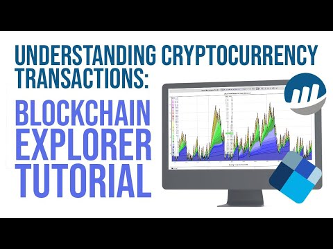 How Cryptocurrency Transactions Work - Blockchain Explorer Tutorial