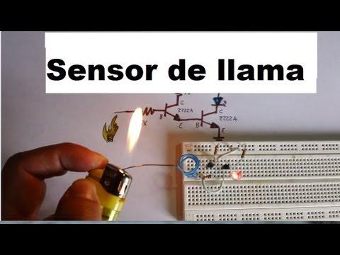 Detector de fuego, llama o flama (Como se hace)