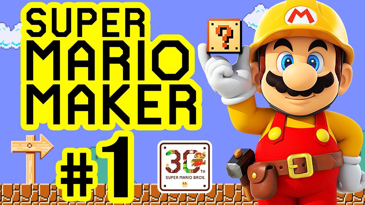 SUPER MARIO MAKER # 01 ☆ 30th Super Mario Bros. Anniversary! [HD ...