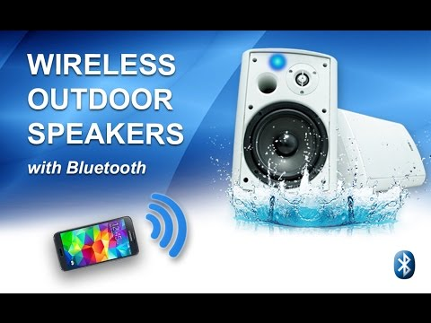 Wireless Outdoor Speakers with Bluetooth by Sound Appeal Review