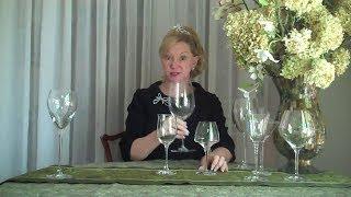 Wine Glasses - Wine Wisdom Etiquette Training by Gloria Starr