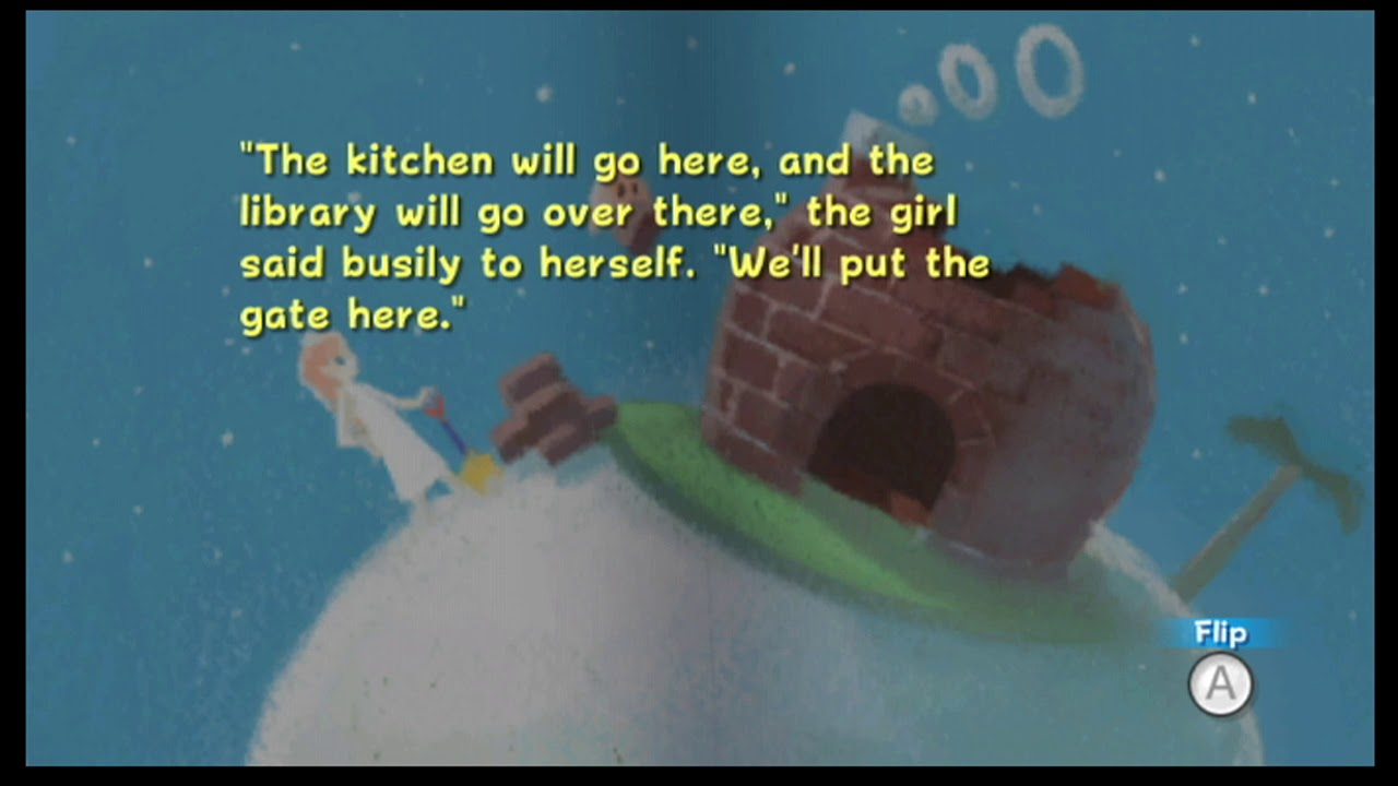 Super Mario Galaxy Library Rosalina\'s Book Chapter 5 Home - YouTube